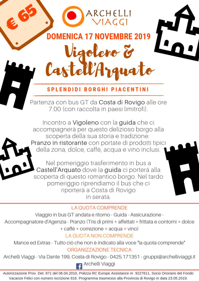 VIGOLENO E CASTELLARQUATO